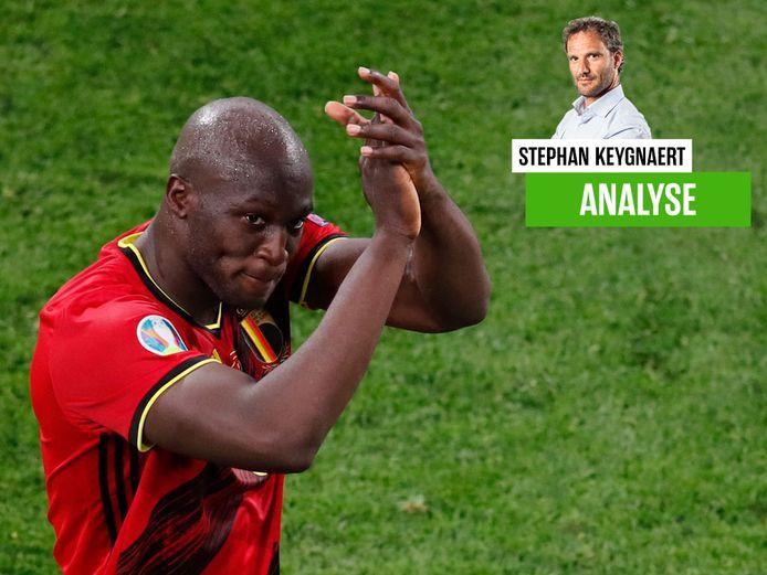 Romelu Lukaku startte als een komeet aan het EK, zo zag ook onze chef voetbal.
