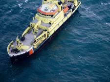 Kustwacht redt twee vissers bij Wijk aan Zee
