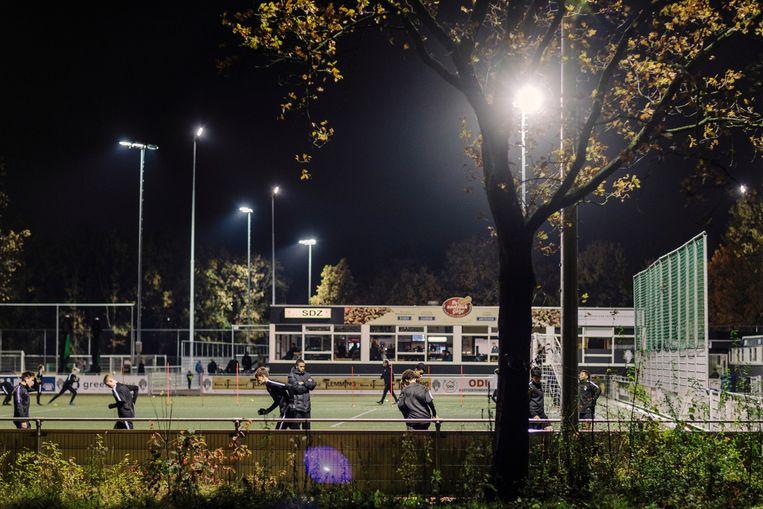 Voetbalvereniging SDZ.  Beeld Marc Driessen