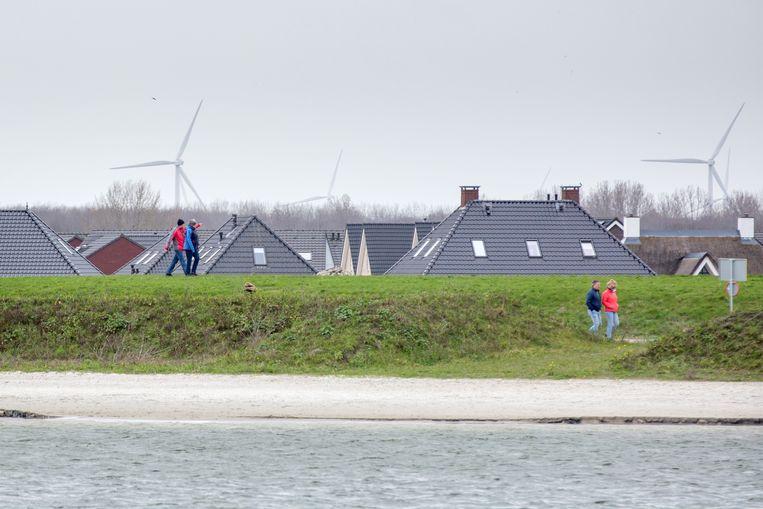 In de gemeente Zeewolde staan veel windmolens. Beeld Herman Engbers