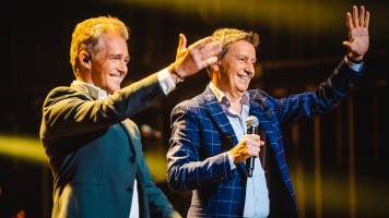Christoff en Willy Sommers in duet met 'Dit Is Mijn Huis'
