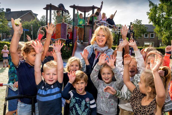 Wilma van de Pol van de Willibrordus-school gaat met pensioen.