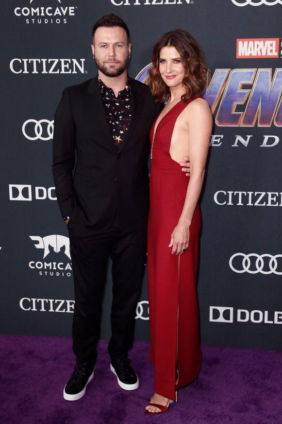 Cobie Smulders, zij speelt een agente van S.H.I.E.L.D..