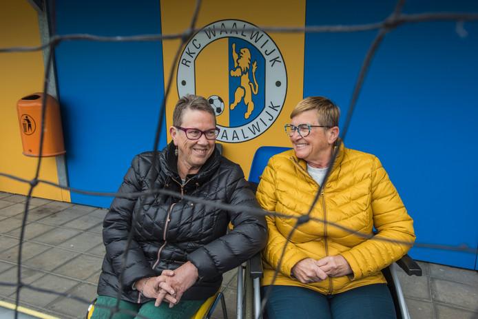 De situatie bij RKC laat voor Joke Bleijenberg (l) en Annemieke Kerstens nog te wensen over.