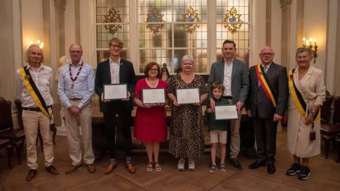 Wetteren heeft vier nieuwe Laureaten van de arbeid