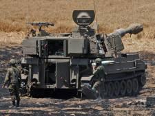 Israëlische leger bestookt tunnelnetwerk van Hamas met tanks en vliegtuigen
