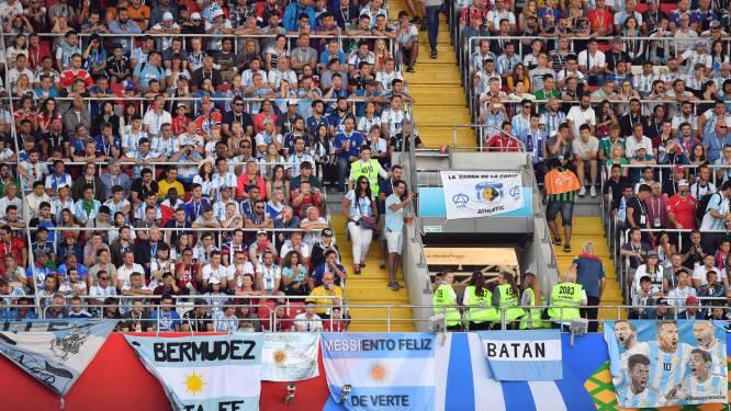 Argentijnse fans worden veroordeeld voor ongepast of seksistisch gedrag tijdens WK