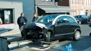 Vier wagens betrokken bij ongeval in Eke: bestuurder (20) lichtgewond overgebracht naar ziekenhuis
