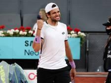 Matteo Berrettini rejoint Alexander Zverev en finale de Madrid