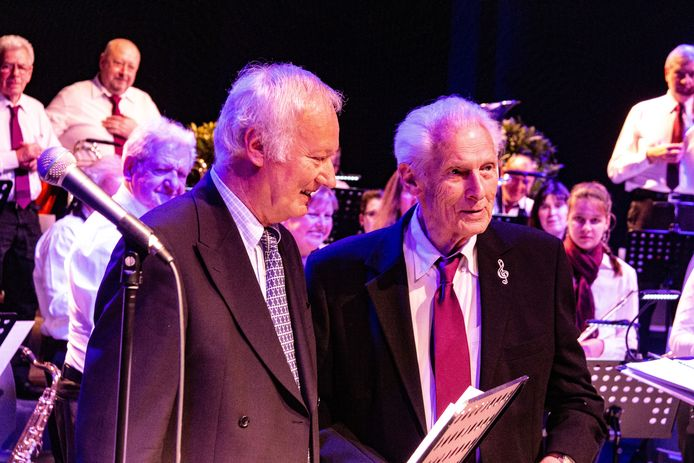 Alfons werd gehuldigd door voorzitter Philippe Tibbaut.