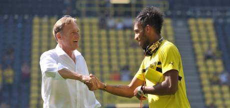 Aubameyang gaat los op Dortmund-voorzitter: 'Jij bent echt een clown'