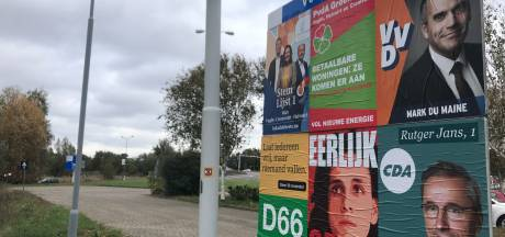 Vught reageert met afschuw op hakenkruis op verkiezingsposter