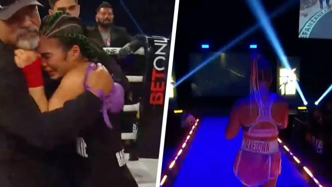 Rachael Ostovich neemt wraak op Paige VanZant bij blote-vuist bokswedstrijd