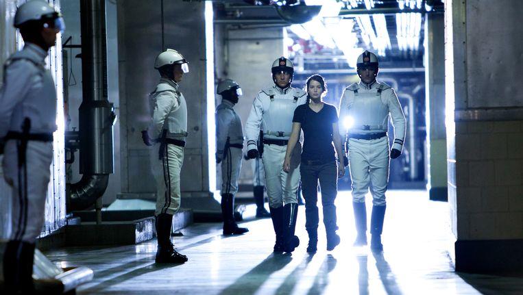 Still uit de bijzonder succesvolle prent 'The Hunger Games'. Beeld AP