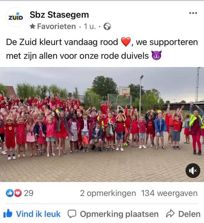 stedelijke basisschool Zuid in Stasegem