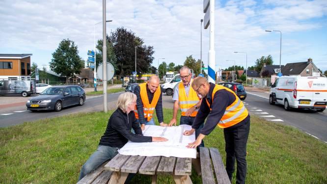 Bewoners Nieuwleusen laten niets aan toeval over bij aanpak N377; laatste check voordat schop grond in gaat