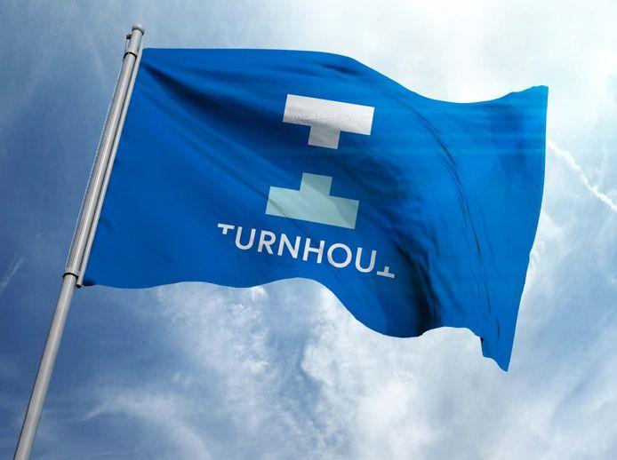 Het nieuwe logo van Stad Turnhout