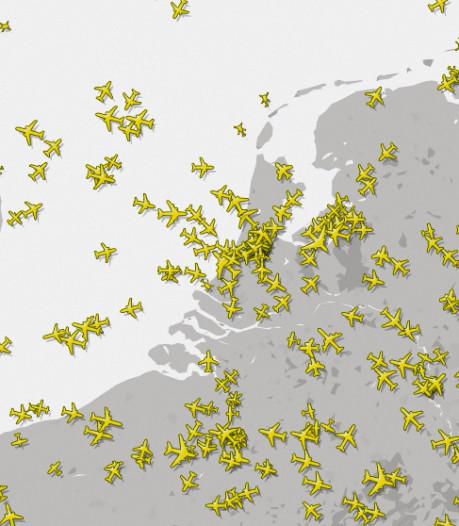 11.000 toestellen tegelijk in de lucht: wirwar aan vliegtuigen groeit nog flink door