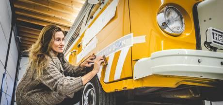 Ankie de Groot kan de weg weer op met een nieuwe Kunstbus