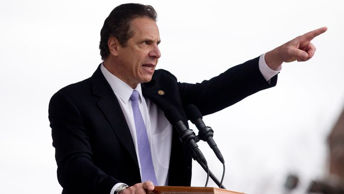 New Yorks gouverneur Andrew Cuomo.