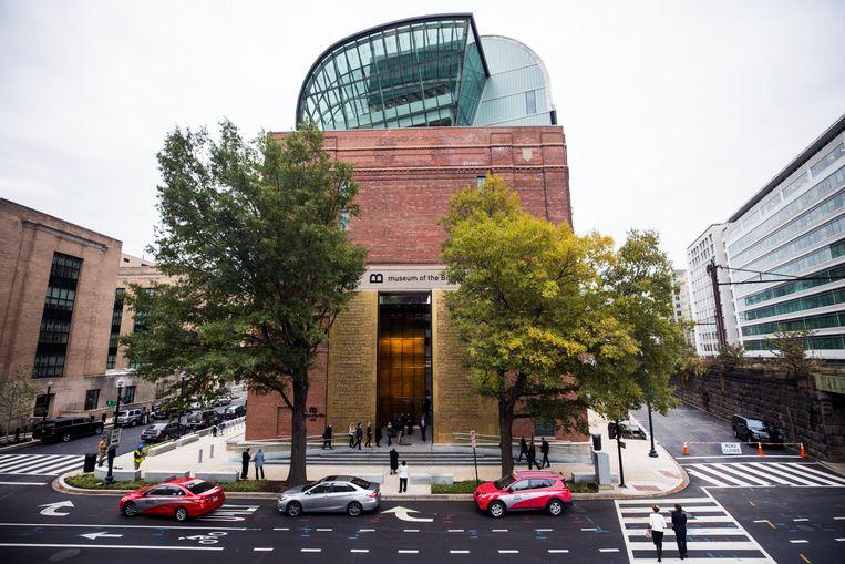 Het Museum van de Bijbel in Washington D.C. moest duizenden voorwerpen in de collectie teruggeven.  Beeld EPA