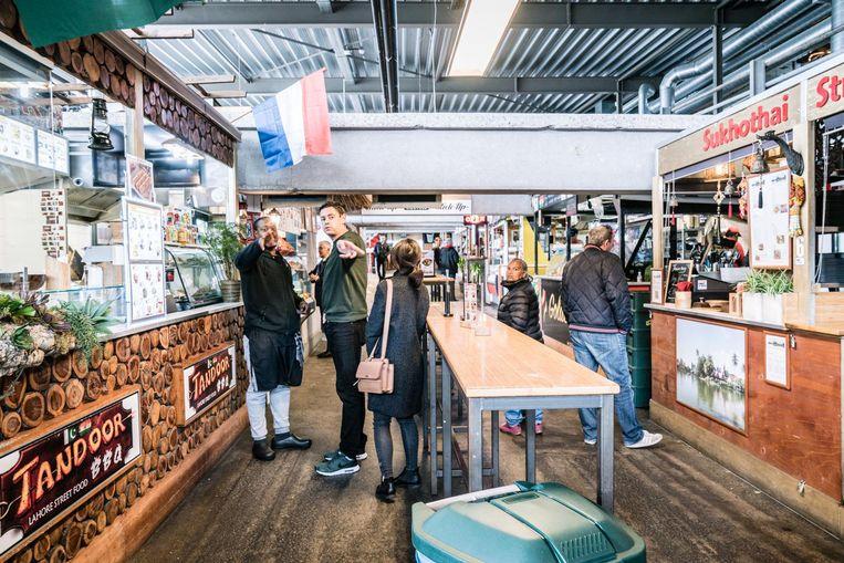 World of Food is nu gevestigd in de oude parkeergarage Develstein. Beeld 24H Zuidoost