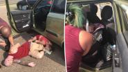 Man vindt koppel dat overdosis genomen lijkt te hebben en ziet dan achteraan in hun snikhete wagen baby zitten