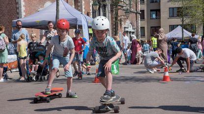 1.500 kinderen genieten op Markt van buitenspeeldag