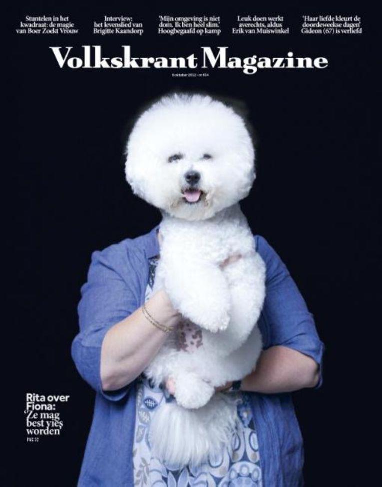 Dierendagcover van 6 oktober 2012. Beeld Volkskrant Magazine