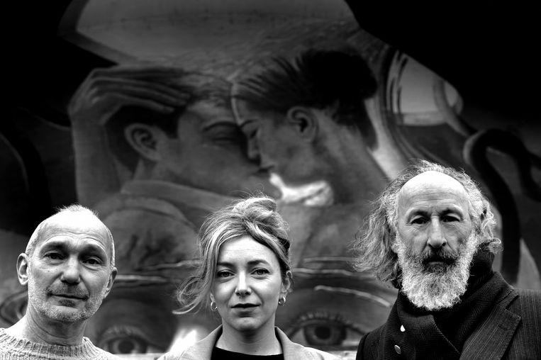Onder anderen Kris Van Trier, Evelien Bosmans en Herwig Ilegems spelen 'Anatole'. Beeld rv