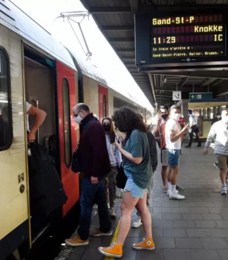"""Pas de prolongation de la """"règle de la fenêtre"""" dans les trains vers la Côte"""