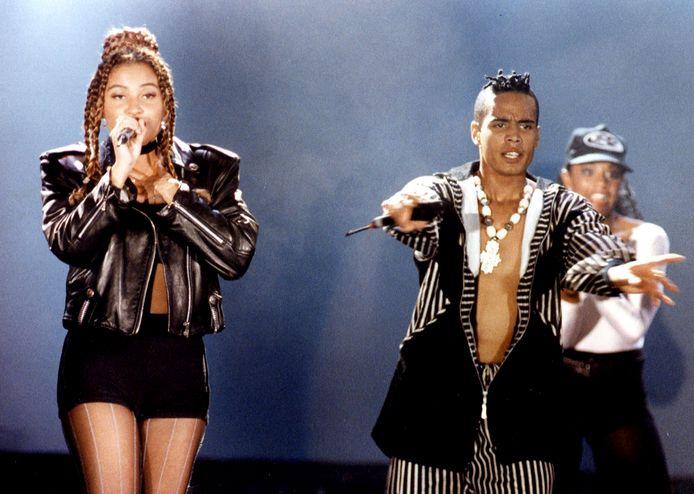 Het Nederlandse house-duo 2 Unlimited gaat in 1996 uit elkaar. Een hoogoplopend conflict met de producers en ruzies tussen Anita Doth (l) en Ray Slijngaard (r) gaven de doorslag.