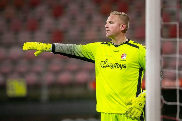Keeper Dennis Telgenkamp stopt na dit seizoen.