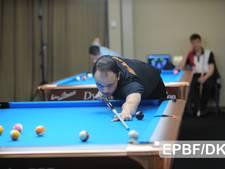 Ivar Saris uit Eindhoven uitgeschakeld in kwartfinale EK poolbiljart