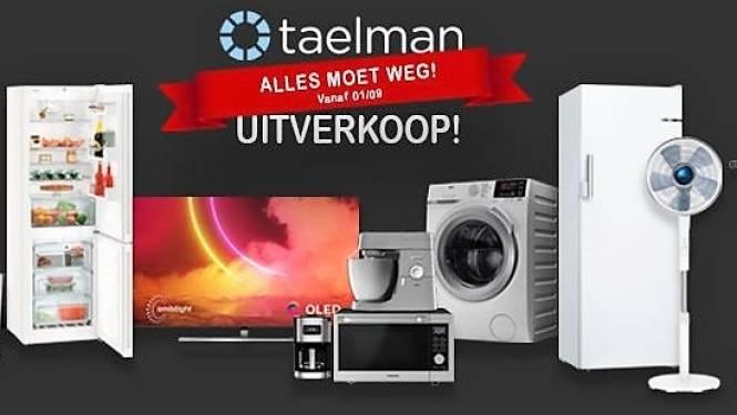 Taelman houdt uitverkoop, want bekende elektrozaak verhuist in najaar
