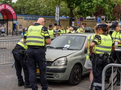 19 auto's in beslag tijdens patsercontrole, 38.000 euro belasting geïnd