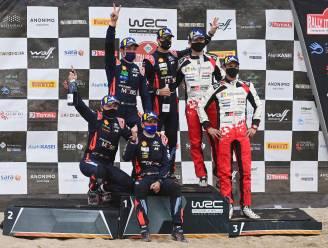 """Teambaas Hyundai ziet Sordo en Neuville één en twee worden in rally van Sardinië, Neuville: """"Heel blij met mijn tweede plaats"""""""