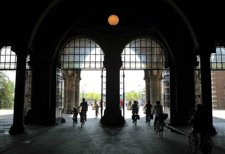De verbinding tussen Stadhouderskade en Museumplein onder het Rijksmuseum Beeld anp