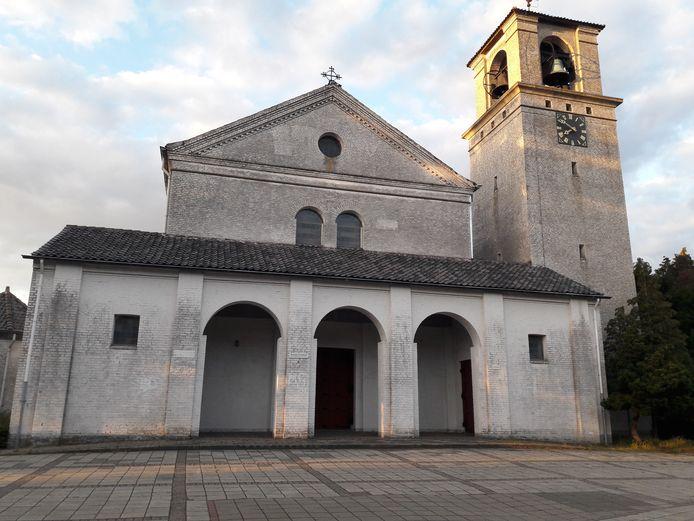 De Heilig Hartkerk in De Horst, bij Groesbeek.