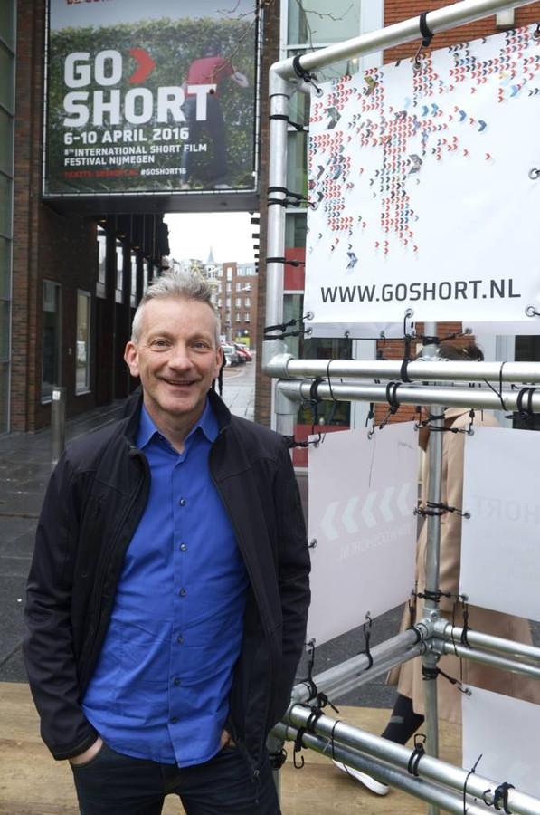 Presentator Geert Willems van De Walk Show. foto Do Visser