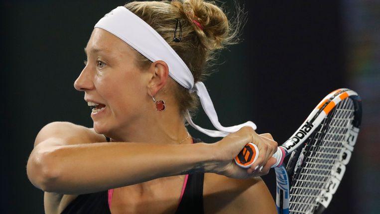 Wickmayer blijft 51e op de WTA-ranking Beeld AP