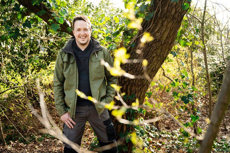 Swinnen: 'Als we de ecologische kwaliteit van de tuinen omhoog krijgen, krijgt de natuur een gigantische duw in de rug.'   Beeld Moa Karlberg