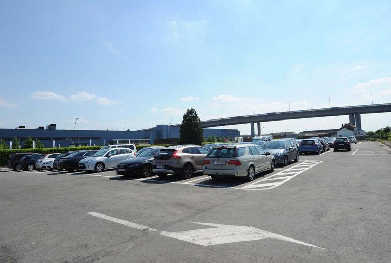 De nieuwe basisschool komt op de Kruitparking in Vilvoorde, vlak bij het viaduct dus.