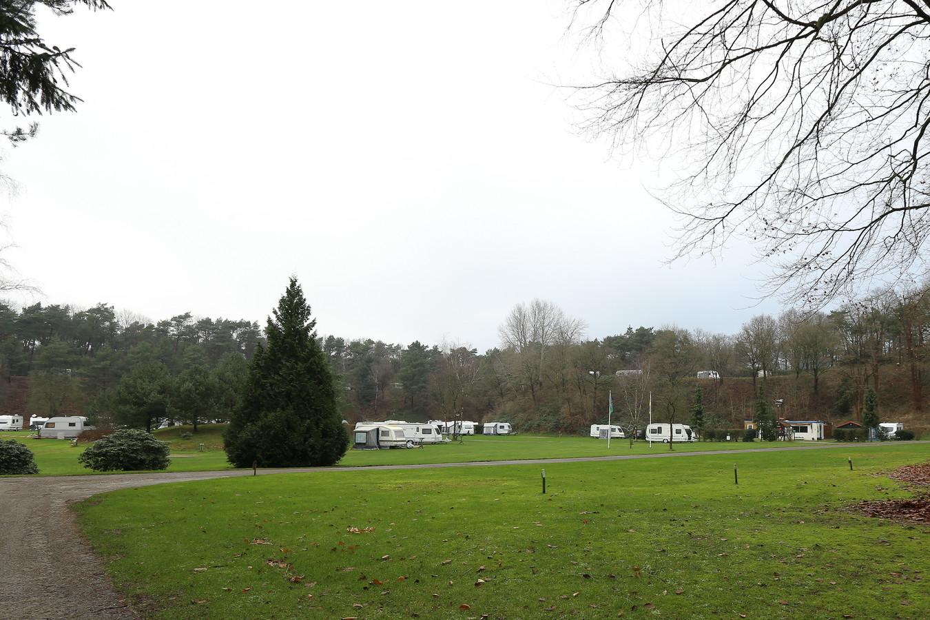 De Braamhorst in de periode dat het nog een camping was.