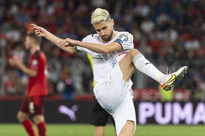 Jorginho miste een penalty.