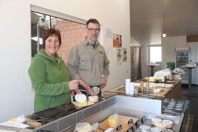 Monique Vervaet en Peter Van Kerckhove van 't Eikenhof.