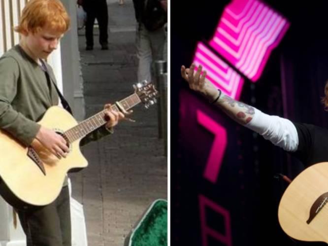 """Ed Sheeran sliep vroeger op straat, vandaag heeft hij zijn eigen dorp: """"Ik ben ver gekomen, maar ik heb er een gitzwarte prijs voor betaald"""""""