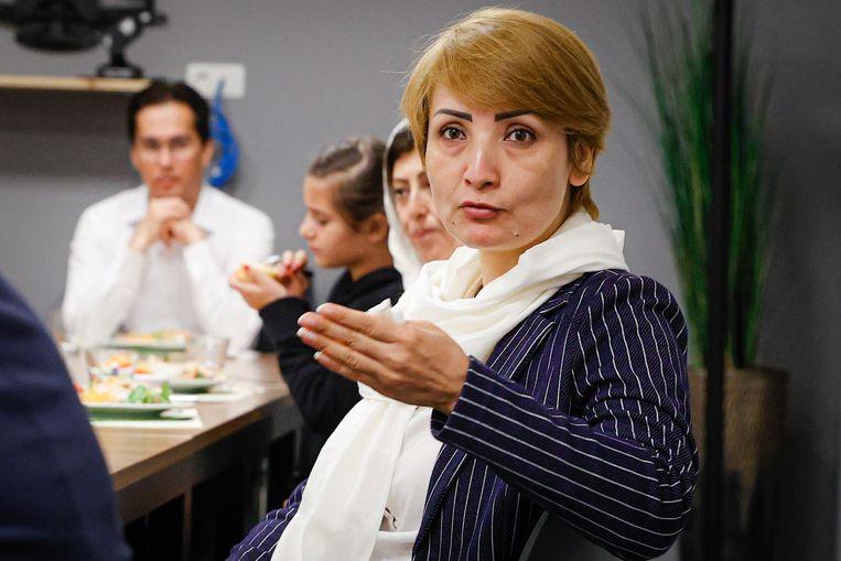 Razia Arefi is algemeen directeur van Mothers for Peace Afghanistan.  Beeld Jan De Meuleneir / Photo News