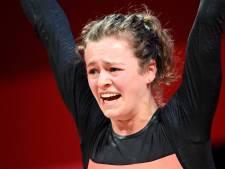 Record de Belgique pour la jeune haltérophile Nina  Sterckx