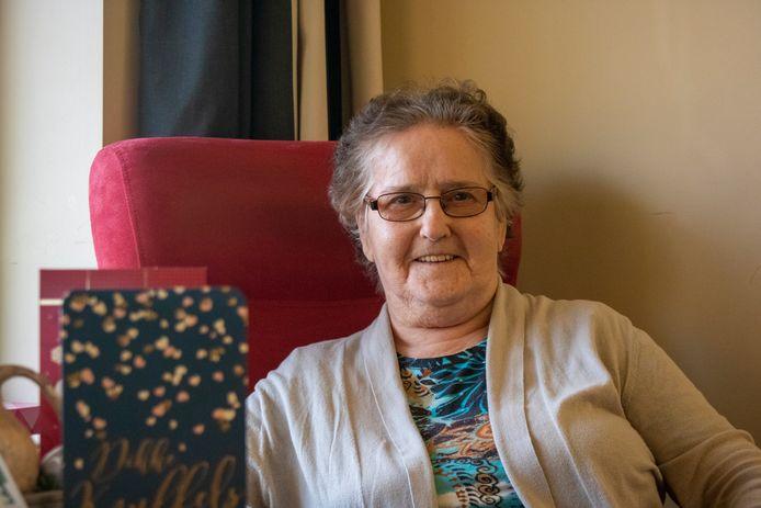 Raymonde verblijft sinds juli vorig jaar in Sint-Anna waar ze zich al helemaal thuis voelt.